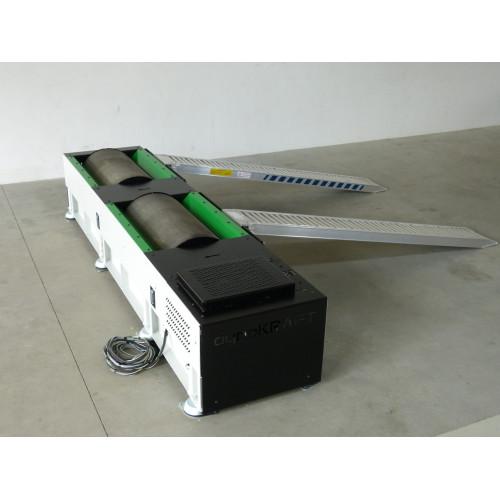 Banc de puissance 1000CV freiné - 2 Roues Motrices