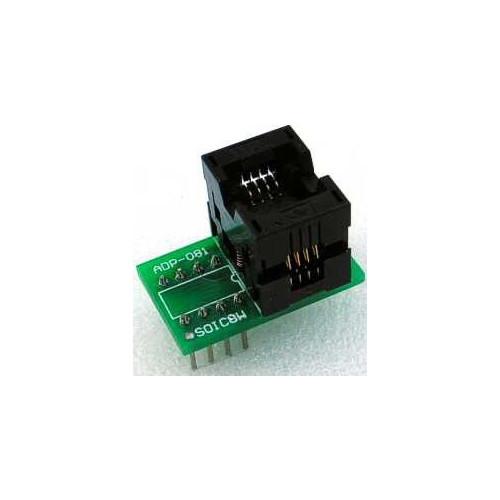 ADP-081 : SOIC8 ZIF 200mil SA684