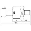 Capteur Pression huile/essence 10 BAR