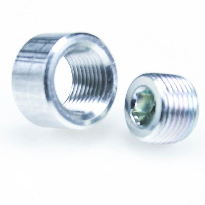 Ecrou 3/8 NTP Aluminium
