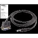 Câble DB9-Jack 3,5mm RS232